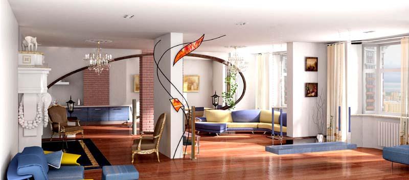 Дизайн помещений в Анапе. Декоративные краски в Анапе