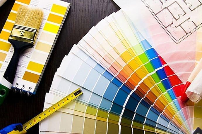 Услуги дизайнера в Анапе. Декоративные краски в Анапе