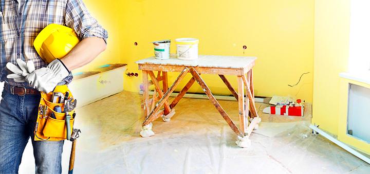 Ремонт помещений в Анапе. Декоративные краски в Анапе